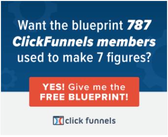 Clickfunnels website banner direct response ad